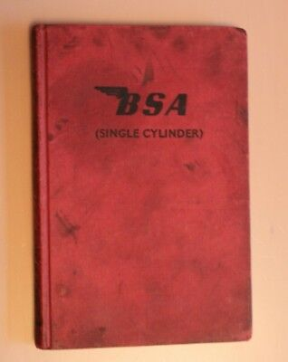 BSA Motor Cycles B31 B33 GOLD STAR ( Singles ) D W Munro - Seventh Edition 1960