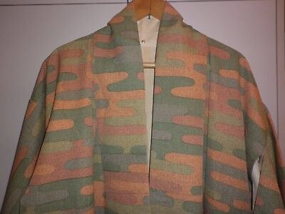 Vintage Japanese Groovy Print Kimono Great Condition