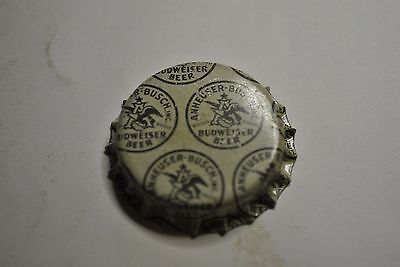 BUDWEISER BEER~WWII Military Glass Bottle Cap Crown  ~UNUSED~