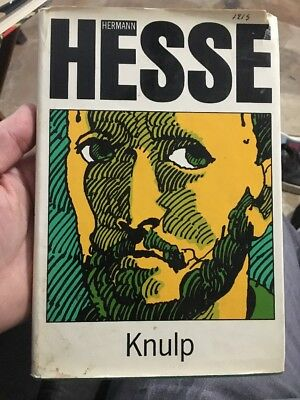 KNULP Hermann Hesse FIRST Edition Nobel Prize Fiction Collectible Hcdj