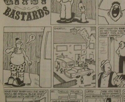 VIZ magazine, the famous issue 44 , incomplete but the historic page is there.