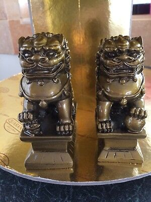 Feng Shui gold  Colour  Foo Dogs