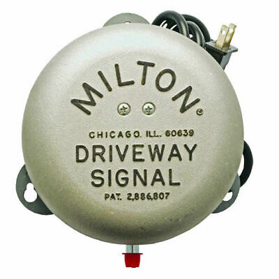 Milton 805 Service Gas Station Driveway Signal Bell