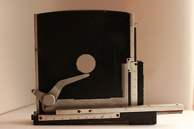 Microscope Stage with XY axes and scale