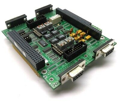 Delta Tau ACC-8ES Analog Servo Interface Board, For PMAC2A-PC104, 4x 9-Pin D-SUB