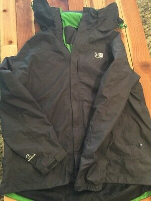 KARRIMOR Mens Grey Waterproof Soft Shell Outdoor Jacket Size XL Really Nice