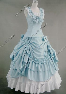 Victorian Southern Belle Princess Old West Prom Dress Gown Theater N 081 XXL