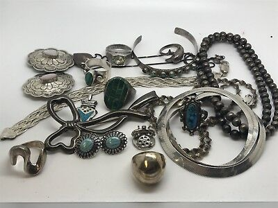 Sterling Silver Scrap Lot, 155 Grams!!