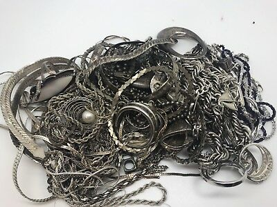 Scrap Sterling Silver Lot, 11 Ounces!!