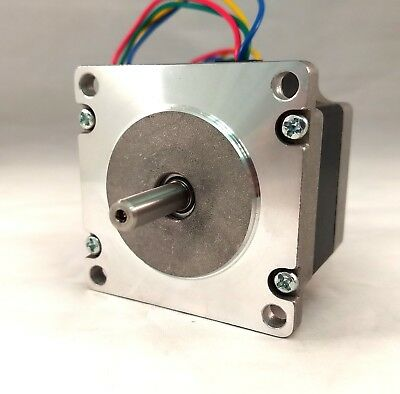 NEMA 23 Stepper Motor, 56 oz-in Holding Torque, 1.0 A/ph, 1.8° Step Angle