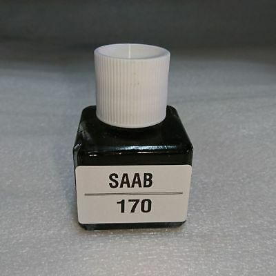 For SAAB Touch Up Paint Kit Color Code # 170 Black