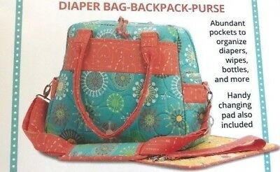 PATTERN - Every Day Every Way - diaper bag or purse PATTERN - Patterns By Annie
