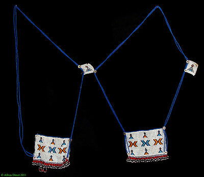 Xhosa Necklace Four Love Letters African Art SALE WAS $139.00