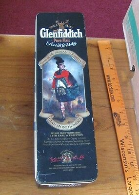 Glenfiddich Scotch Whiskey Clans of the Scottish Highlands Tin Montgomerie #2