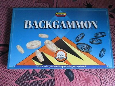Vintage 1990 Spear's Games Backgammon Board Game - Boxed - New