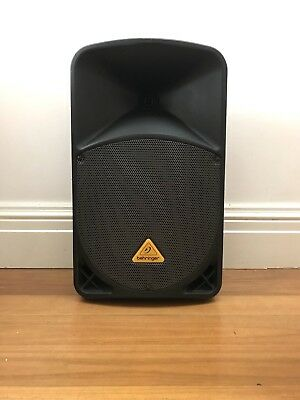 "Behringer Eurolive B112D Active 12"" PA Speaker With Stand Included."