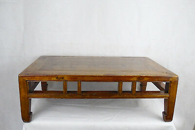 Kang Table, Chinese, 19th C Qing Dynasty