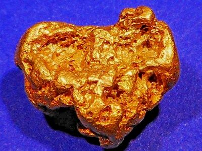 One Stunning Australian Gold Nugget ( 25.50 grams ).+ FREE 999.9 GOLD CARD SET.