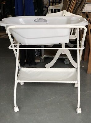 Baby Bath On Stand With Wheels