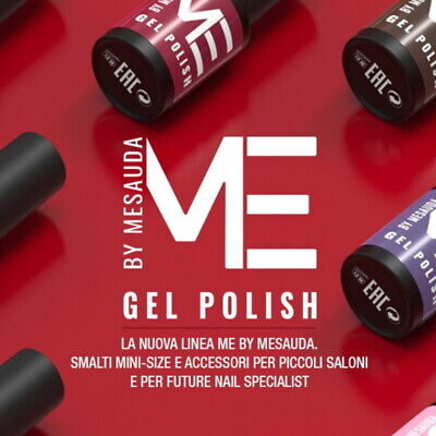Smalto Semipermanente GEL POLISH NAIL COLOUR 5 ml - Mesauda ed Accessori