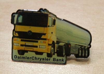 "Mercedes Benz Sammler Anstecker Ansteck pin Actros ""  Daimler Chrysler Bank """