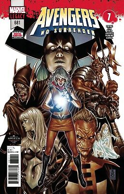 Avengers #681 Marvel Legacy - 1St Print - Bagged & Boarded. Free Uk P+P