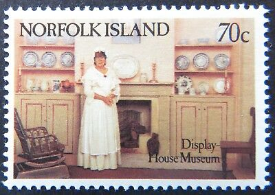 1991 Norfolk Island Stamps - Museums - Single 70c MNH