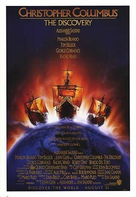 CHRISTOPHER COLUMBUS: THE DISCOVERY original 27x40 movie poster LAST ONE (cb01)