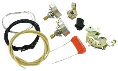 TL Wiring Kit More Tone & Dynamics CTS Switchcraft Orange Drop CRL fits to Tele®