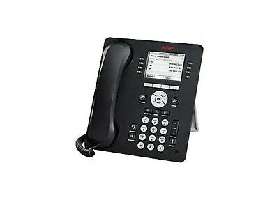Avaya 700504845 9611G IP Telephone (Black) NEW IN BOX - Never Opened