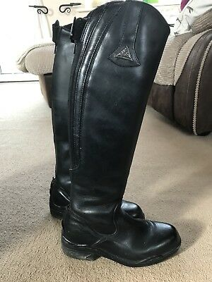 Mountain Horse Long Leather Riding Boots Size 5.5