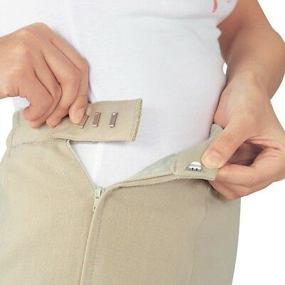 Easy Fit Hook Extenders Pack of 5 *Trousers *Skirts  *NEW*