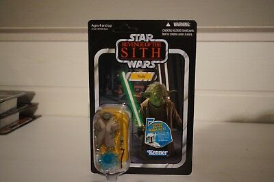 Star Wars Vintage Collection Yoda VC 20  UNPUNCHED