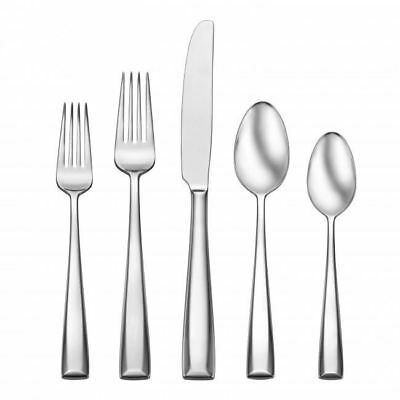 Oneida 89 Piece Prime 1810 Stainless Fine Flatware Set Service For