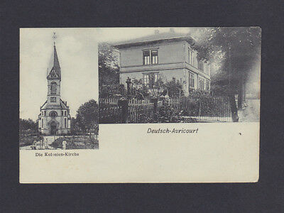 Alte Ak Deutsch-Avricourt, gel. 1906