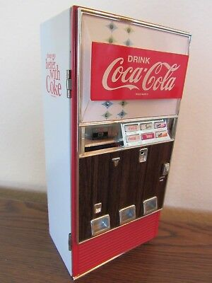 "Old Coca Cola Vending Machine Replica ""things Go Better With Coke"""