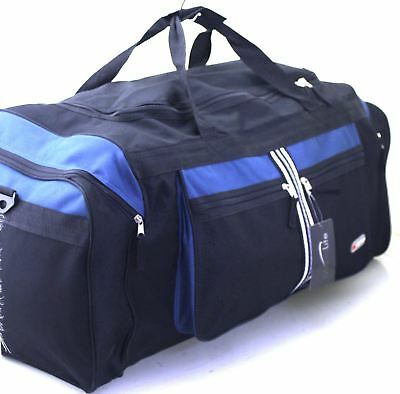"Extra Large 30"" Sports Travel Holdall Luggage Carry Cargo Weekend Business Bag"