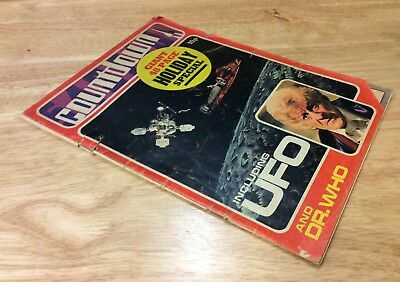 Vintage Countdown - Giant 48 Page Holiday Special Magazine - Dr.who - Ufo