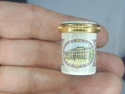 Old Vintage Bilston Battersea Halcyon Days Royal Prince William 1986 Pill Pot
