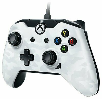 PDP Camo Wired Xbox One Controller - White