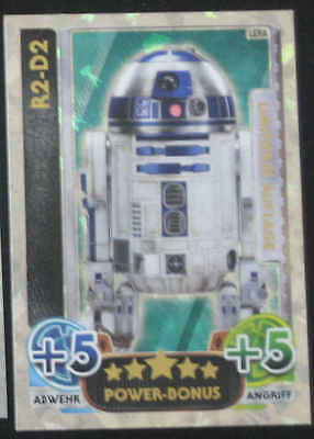 Star Wars Force Attax LEPA R2-D2 german version allemande limitierte auflage