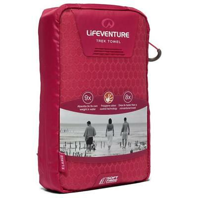 New Lifeventure Soft Fibre Advanced Travel Towel X-Large Camping