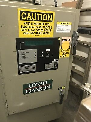 Conair Franklin Plastic Resin Dryer 600 lbs per hr. Model DAFC04S0300000
