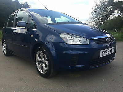 2008 Ford C-Max Style Turbo Diesel.s.d.+2 Owners. Low Mileage.service History.