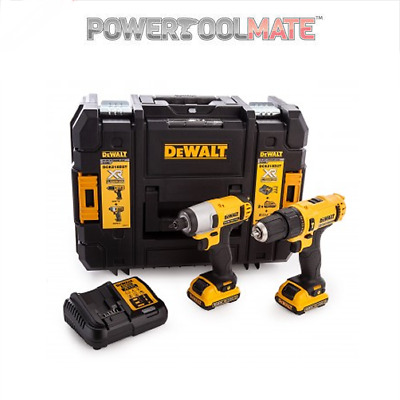 Dewalt DCK218D2T 10.8V Li-ion XR Cordless Combi and Impact kit new dck211d2t