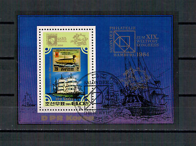 Korea, Segelschiff MiNr. 2474 Block 179, 1984  used