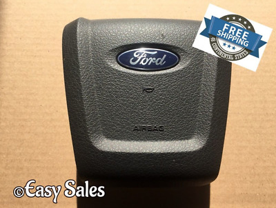 2009-2014 Ford F-150 Black Drivers Driver Left Steering Wheel Airbag Air Bag