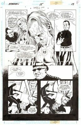 TONY HARRIS STARMAN 15 page 13 Mikaal Tomas BLUE STARMAN is in trouble!