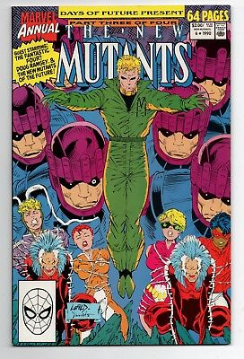 NEW MUTANTS ANNUAL 6 First appearance of Shatterstar, Deadpool 2 movie Cable