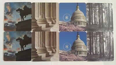 8 Collectible Rosewood Hotel Room Key Cards